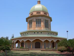bahai temple , travel to uganda