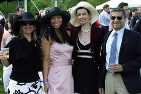 Picture at last weekend's polo match