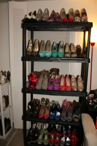 My shoe rack