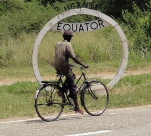 The Uganda equator,kasese