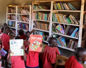 Ugandan children's librarly
