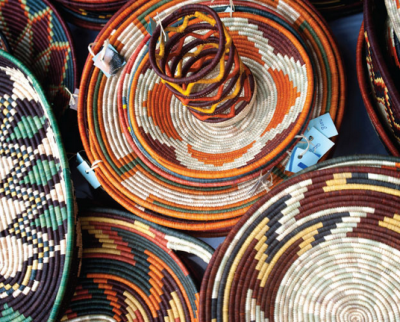Uganda crafts uganda art galleries beads baskets for Arts and crafts style prints