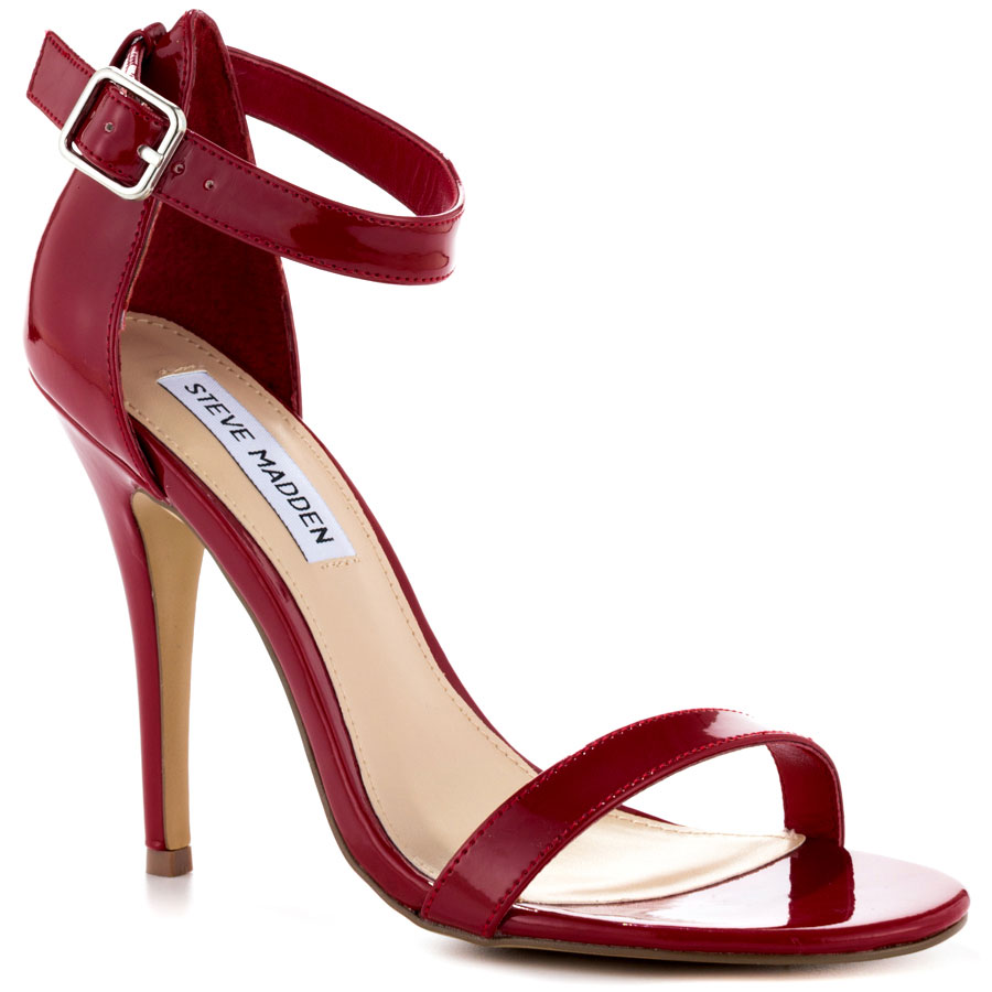 Red Sandals Shoes Women